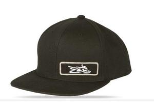 Fly Racing Primary Snap Back Hat (Black, OSFA)