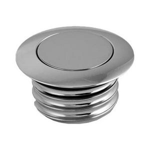 Fuel System Gas Caps Gloss Black HardDrive 012773 Screw in Smooth