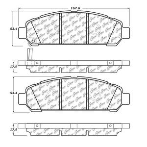 StopTech 104.14010 Disc Brake Pad Fits 09-10 Venza