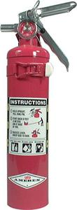 Allstar Performance 2.5 lbs ABC Rated Red Fire Extinguisher P/N 10500