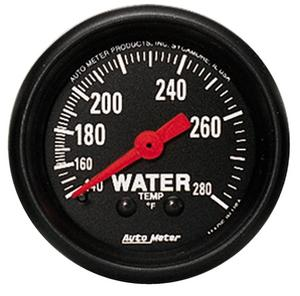 AutoMeter 2606 Z-Series Mechanical Water Temperature Gauge
