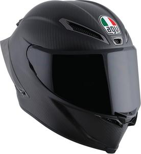 AGV Adult Motorcycle Full Face Pista Carbon Helmet Clear Shield MS