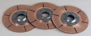 TILTON 5-1/2 in 1-5/32x26 Spline Full Circle Clutch Disc 3 pc P/N 64140-9-ABA-36