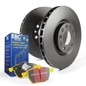 EBC Brakes S13KR1537 S13 Kits Yellowstuff and RK Rotors Fits 03-11 Element TL