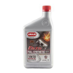 Amalie Elixir 5W50 Motor Oil 1 qt P/N 75716-56