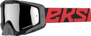 EKS Brand EKS-S Outrigger Goggles Black and Red All Over (Black, OSFM)