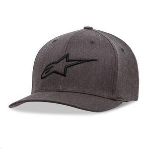 Alpinestars Ageless Curve Hat Charcoal Heather/Black (Gray, Large - X-Large)