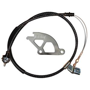 BBK Performance 1505 Clutch Quadrant And Cable Kit Fits 79-95 Capri Mustang