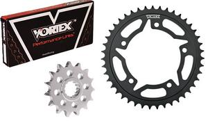 Vortex Motorcycle Chain and Sprocket Kit For Yamaha YZF-R1 16T 49T CK6360