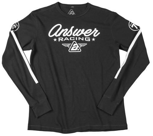 Answer Team 76 Long Sleeve Shirt (Black, Medium)