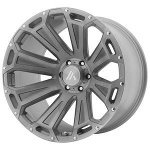 "Asanti Off Road AB813 Cleaver 22x10 6x135 -12mm Brushed Wheel Rim 22"" Inch"