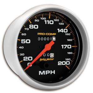 AutoMeter 5156 Pro-Comp Mechanical In-Dash Speedometer
