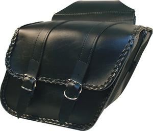 "Willie & Max Braided Compact Slant Bag 12""x9.5""x5.5"""