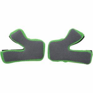 AFX 0134-2003 Cheek Pads for FX-17 Helmet - Lg - Green