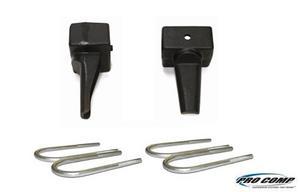 Pro Comp Suspension 22256 Block With U-Bolt Kit Fits 82-96 F-150
