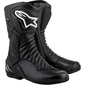 Alpinestars SMX-6 V2 Gore-Tex Boots Black/Black (Black, 12)