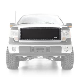 Smittybilt 615832 M1 Grille Insert For 09-14 F-150 Black Mesh 1 pc.