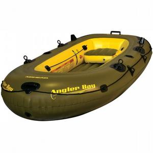 Airhead AHIBF-04 Angler Bay 4 Person Inflatable Boat
