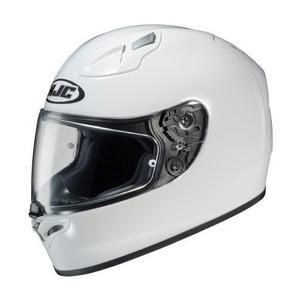 HJC FG-17 Solid White Adult Helmet