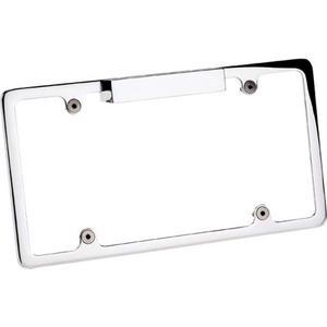 BILLET SPECIALTIES Polished Lighted License Plate Frame P/N 55220