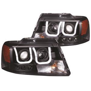 Anzo USA 111288 Projector Headlight Set Fits 04-08 F-150 Mark LT