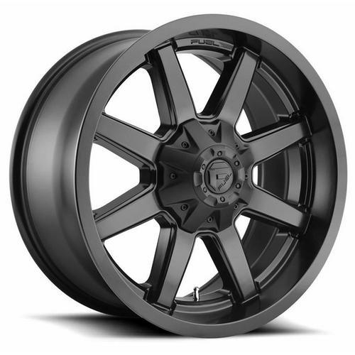 "4-Fuel D436 Maverick 20x10 6x135/6x5.5"" -18mm Matte Black Wheels Rims 20"" Inch"