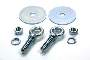 Crow Enterprises Eye Bolt/Flat Washer/Nut Harness Hardware Kit P/N 11548