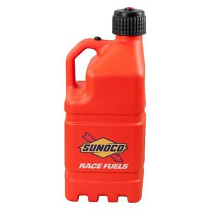 Sunoco Square Orange Plastic 5 gal Utility Jug P/N R7100OR