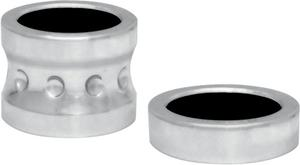 Covingtons Chrome Front Axle Spacers For Harley Davidson FLT 08-17 W/ABS C0015-C