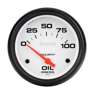 AutoMeter 5827 Phantom Electric Oil Pressure Gauge