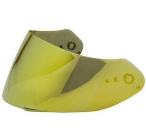 Scorpion 52-526-71 Everclear Faceshield for EXO-R2000/R410 Helmet - Gold Mirror