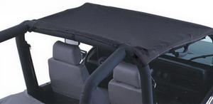 Rampage 92815 California Brief Soft Top Fits 92-95 Wrangler (YJ)