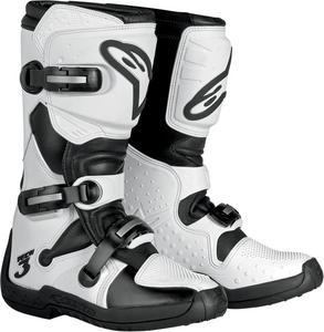 Alpinestars Stella Tech 3 Womens Offroad Boots White/Black Size 6