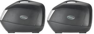 GIVI Dual Sport Adventure 34 Liter Side Storage Cases Black/Smoke (Pair) V35NTA