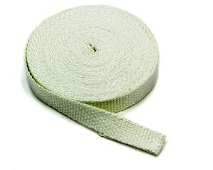 Moroso Exhaust Wrap 1 in x 50 ft Roll White P/N 80809