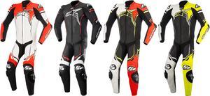 Alpinestars GP Plus v2 Leather Racing Suit White/Black/Red Mens Size 48
