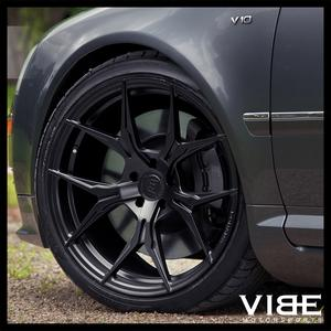 """19"""" ROHANA RFX5 BLACK FORGED CONCAVE STAGGERED WHEELS RIMS FITS ACURA TL"""