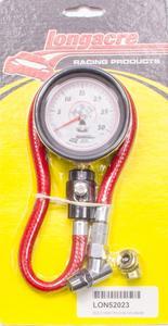 LONGACRE 2-1/2 in Analog 0-30 psi Standard Tire Pressure Gauge P/N 52023