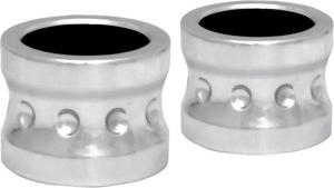 Covingtons Chrome Front Axle Spacers For Harley Davidson FL 00-07 NON ABS