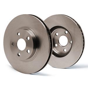 Max Brakes OE Series Rotors  Front Premium Brake Rotors SY010341 [Fits:2001 - 2004 S60 S80 | 2003 - 2007 V70 XV70]
