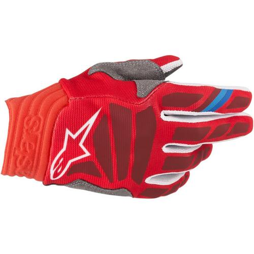 Alpinestars Aviator Gloves Red/Burgundy (Red, XX-Large)