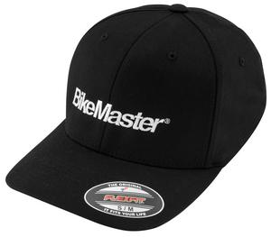 BikeMaster Ball Cap (Black, Large - X-Large)