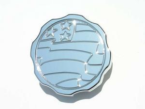MEZIERE Round Aluminum 16 lb Radiator Cap P/N WCC00516C