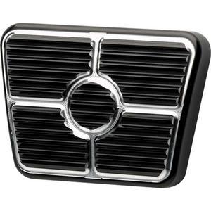 BILLET SPECIALTIES Black Brake/Clutch Pedal Pad GM F-Body 1967-69 P/N 199365