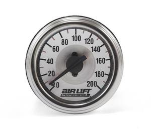 Air Lift Performance 26228 Dual Needle Air Gauge
