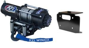 KFI 3000 LB Winch and Mount Kit For Kawasaki 650 Prairie 01-03 750 Priarie 04-06