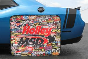 Holley Performance 36-446 Sticker Bomb Tire Shade