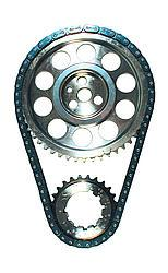 JP PERFORMANCE 0.005 in Double Roller Pontiac V8 Timing Chain Set P/N 5614-LB5