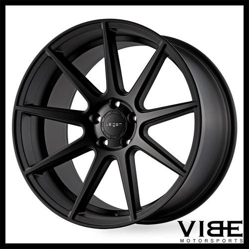 20 Velgen Vmb9 Black Concave Wheels Rims Fits Acura Tsx Sold By
