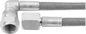 ALLSTAR PERFORMANCE 16 in 4 AN Braided Brake Hose 5 pc P/N 46402-16-5